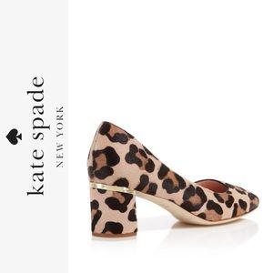 Kate Spade Delores Too Leopard Print Pumps